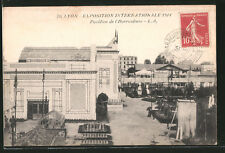 AK Lyon, Exposition Internationale 1914, Pavillon de l´Horticulture, Ausstellun