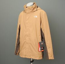 NEW The North Face Men Evolution II Triclimate Jacket HYVENT Bright Khaki/ Brown