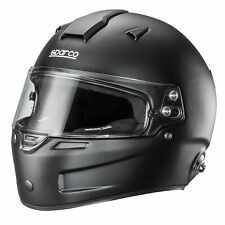 Sparco Air Pro RF -5w Fibreglass Car Racing/Race Crash Helmet/Lid - Matt Black
