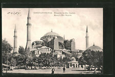 tolle AK Constantinople, Mosque Ste. Sophie