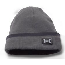 Under Armour Coldgear Infrared Cuff Sideline Mens Headwear Beanie Hat - Graphite