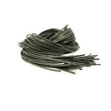 a233a10186912 Square 3mm Black Leather 120cm Shoe Hiking Boot Laces