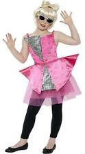 Girls Mini Lady Dance Diva Gaga Fancy Dress Costume