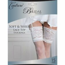 Soft and Sheer Lace Top Stockings