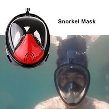 Underwater Diving Mask Snorkel Set Swimming Training Scuba Snorkeling Mask S/M/L