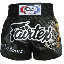Fairtex Muay Thai Shorts, Satin, BS0639, Thaibox Hosen Short Thaiboxen Kickboxen
