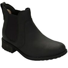 Womens Ugg Australia Bonham Leather Chelsea Boots In Black From Get The Label