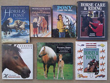 SELECTION OF HORSE & PONY THEMED BOOKS
