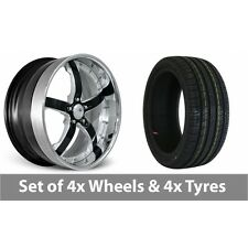 """4 x 20"""" Concord Signature Series Alloy Wheel Rims and Tyres - 245/40/20"""