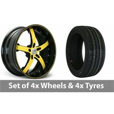 """4 x 20"""" Concord Signature Series Alloy Wheel Rims and Tyres - 255/40/20"""