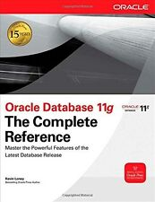 Oracle Database 11g: The Complete Reference 9780071598750 by Kevin Loney, NEW