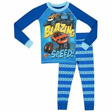 Blaze and the Monster Machines Pyjamas | Boys Blaze & Monster Machines PJs | NEW
