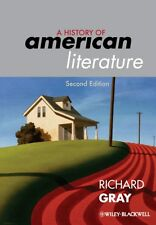 History of American Literature 9781405192293 by Richard J. Gray, Hardback, NEW
