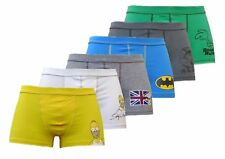 Men's Retro Comic BOXER SHORTS Simpsons Batman Snoopy Roadrunner Pepe le Pew