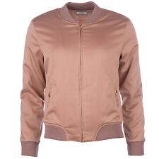 Womens Glamorous Bomber Jacket In Dusty Pink From Get The Label