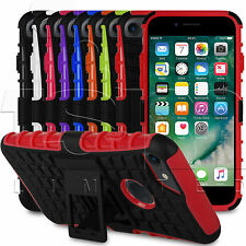 2 capas a Prueba De Golpes Protector / Funda silicona para Apple iPhone 7 Plus