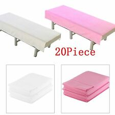 Pack of 10 Massage Beauty Waterproof Disposable Bed Table Cover Sheets 80X180cm