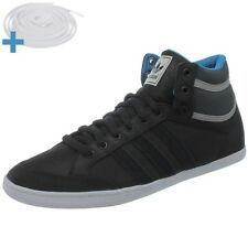 Adidas Plimcana Mid men's casual shoes black suede mid-top sneakers NEW