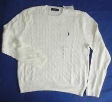 Polo Ralph Lauren Roving Cable Knit Jumper Sweater BNWT New - XXL