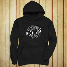 BICYCLES BIKE CYCLING ROAD MOUNTAIN SPORTS SPEED Womens Black Hoodie