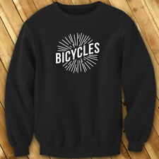 BICYCLES BIKE CYCLING ROAD MOUNTAIN SPORTS SPEED Mens Black Sweatshirt
