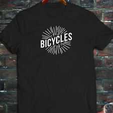 BICYCLES BIKE CYCLING ROAD MOUNTAIN SPORTS SPEED Mens Black T-Shirt