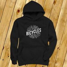 BICYCLES BIKE CYCLING ROAD MOUNTAIN SPORTS SPEED Mens Black Hoodie