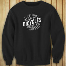 BICYCLES BIKE CYCLING ROAD MOUNTAIN SPORTS SPEED Womens Black Sweatshirt
