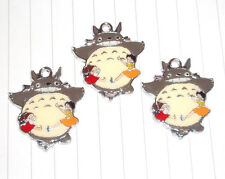 Kitsch Cute Anime My Neighbour Totoro Charms Enamel & Cabochons