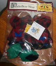 NWT Muffy VanderBear ~ Hoppy VanderHare ~All Spruced Up Adirondack Collection