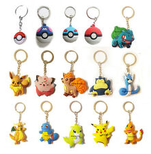 New Fashion Anime Pokemon Go Poke Ball Keyrings Keychains Cute