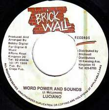 "Luciano / Singing Melody - Word Power And Sounds / 7"" Vinyl Schallplatte - 4798"