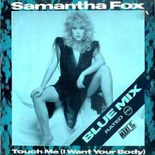 "Samantha Fox - Touch Me (I Want Your Body) (Blue 12"" Vinyl Schallplatte - 110315"