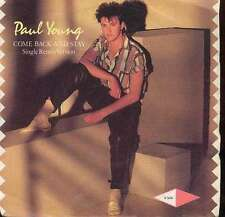 """Paul Young - Come Back And Stay (Single Remix Ver 7"""" Vinyl Schallplatte - 15121"""