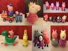 Peppa Pig Various Toy Character Figures & Soft Toys