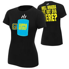 "WWE Enzo & Big Cass ""Cuppa Haters"" Women's Authentic T-Shirt *NEU* Damen"