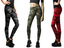 Urban Classics Ladies Camo Leggings Fitness Bodybuilding Damen Leggings TB1331