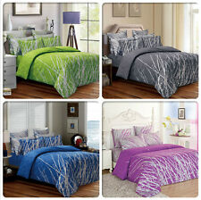 Tree Double Queen King Super Size Bed Duvet Doona Quilt