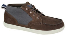 Timberland Earthkeepers Foulques Hommes Chukka À Lacets Brun Chaussures Bateau
