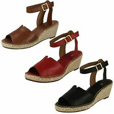 Ladies Clarks Casual Wedge Summer Sandals Label - Petrina Selma