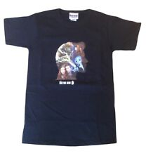 11th Eleventh Doctor Who Matt Smith Official 'Silhouette' Adults T-Shirt - NEW