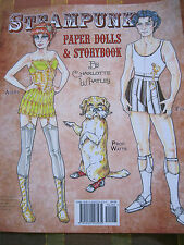 Victorian-Style STEAMPUNK Paper Dolls & Storybook by Charlotte Whatley and PSP