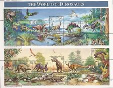 US Stamps - 1997 The World of Dinosaurs - 15 Stamp Sheet - Scott #3136