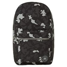 New Mens Converse Black Camouflage Cotton Backpack Backpacks