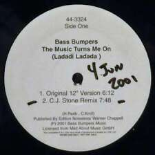 "Bass Bumpers / Magic Box - The Music Turns Me On  12"" Vinyl Schallplatte - 36252"