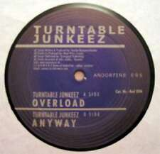 "Turntable Junkeez - Overload / Anyway (12"") Vinyl Schallplatte - 57269"