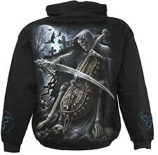 Spiral Symphony of Death Hoodie Sweat Shirt Top Gothic Skelett  Death #3221 427
