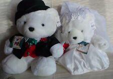 2000 Wedding Bride & Groom Dayton Hudson NWT MR & MRS Santa Bears