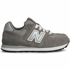 New Balance 574 Grey White Boys and Girls trainers kids