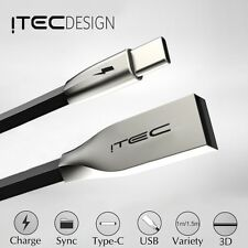 ITEC TYPE-C 3.1 USB-C ZINC ALLOY CABLE DATA SYNC CHARGER CHARGING LEAD ADAPTER